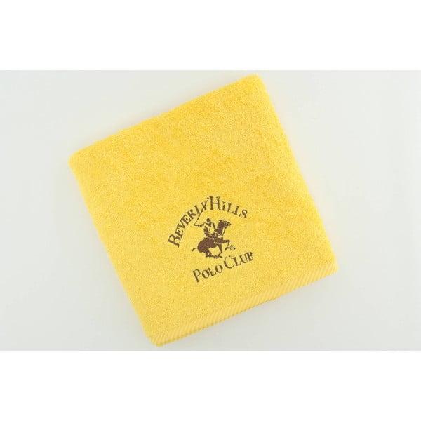 Ručník BHPC Yellow, 50x100 cm