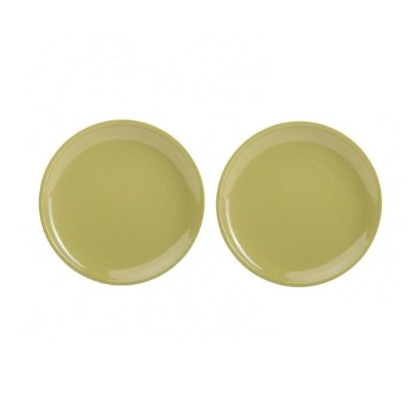 Bambusové talíře Olive, 2 ks