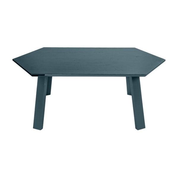 Konferenční stolek Hexagon Light Grey, 105x37x61 cm