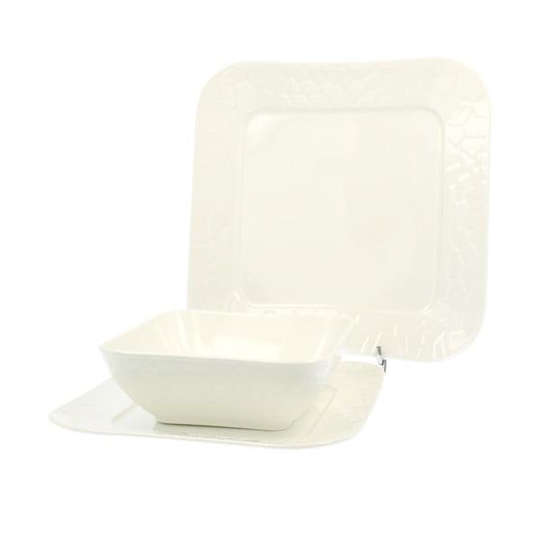Porcelánová sada talířů Gamma, 18 ks