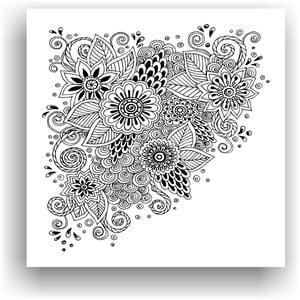 Obraz k vymalování Color It no. 64, 50x50 cm