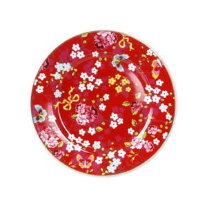 Velký talíř 32 cm, červený