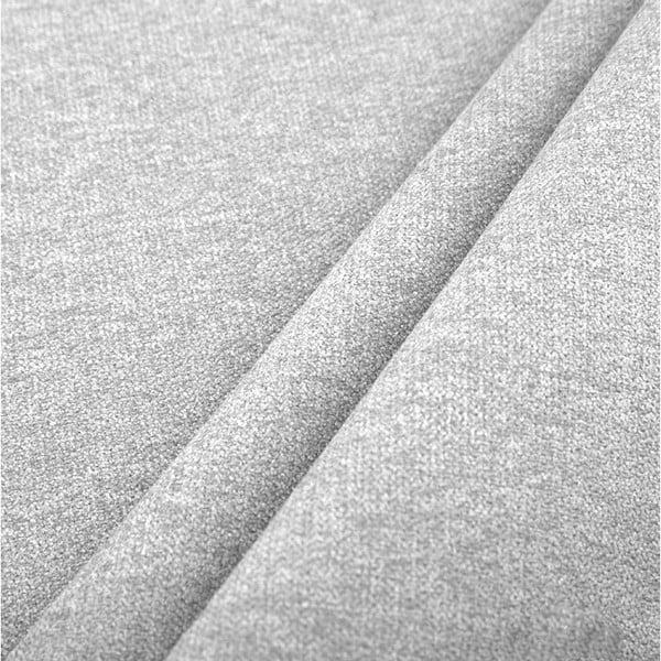 Světle šedá pohovka pro čtyři s lenoškou na pravé straně Cosmopolitan design Newport