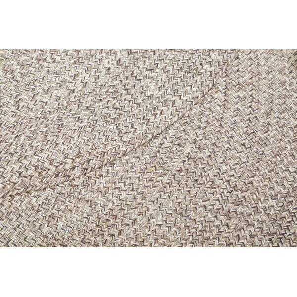 Kulatý koberec Hawke&Thorn Parker, šedý