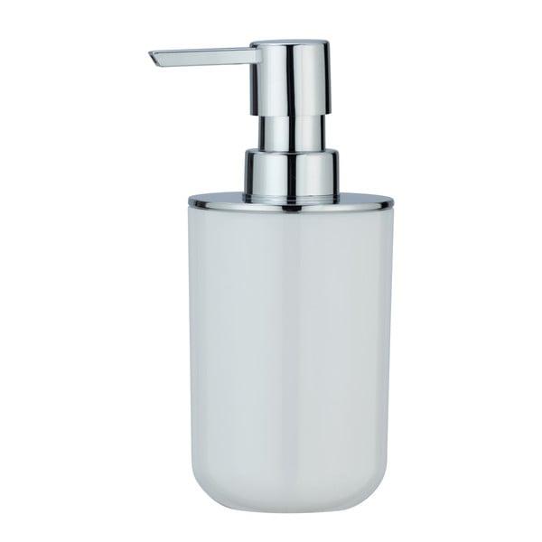 Bílý dávkovač mýdla Wenko Posa, 330ml