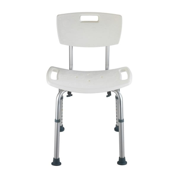 Bezpečnostní stolička s opěradlem do sprchy pro seniory Wenko Secura