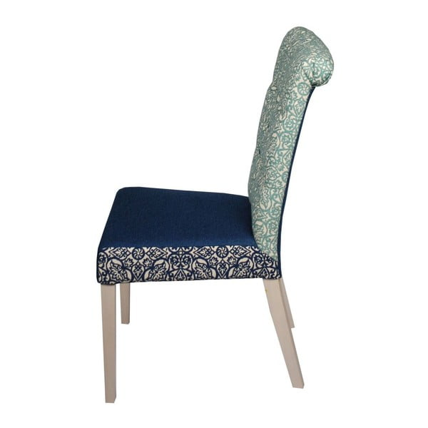 Židle Romantic Provence Blue Marine/Blue