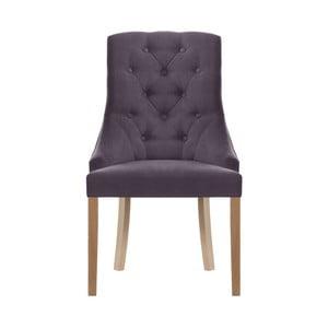Fialová židle Jalouse Maison Chiara