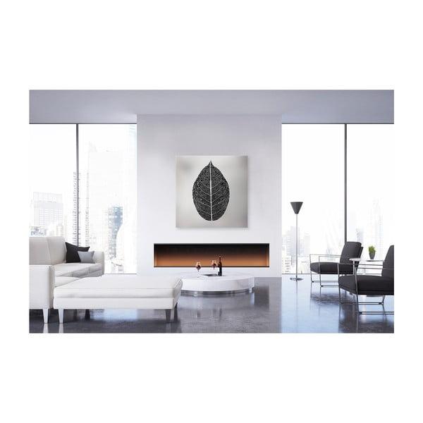 Obraz na plátně Styler Silver Leaf, 60 x 60 cm