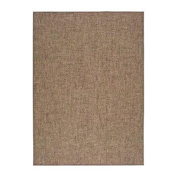 Covor adecvat și pentru exterior Universal Jaipur Beige Daro, 80 x 150 cm, bej închis de la Universal