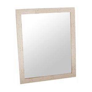 Zrcadlo Romantic  46x56 cm, béžový rám