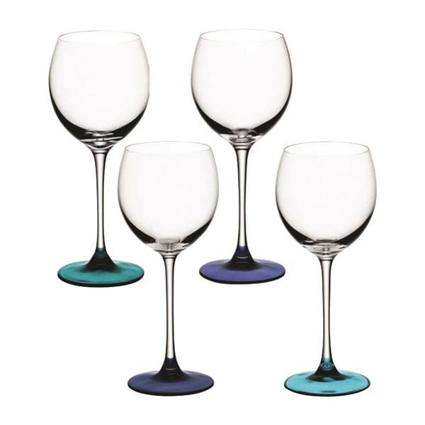 Coro Blue, sklenice na víno, sada 4 ks