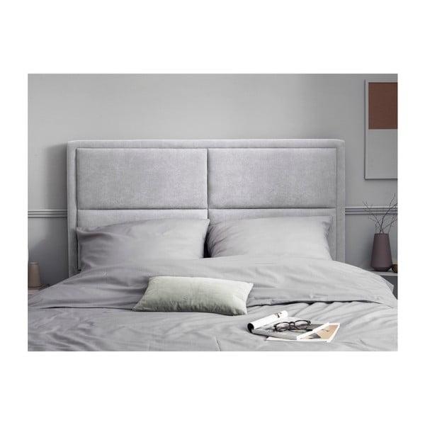 Světle šedé čelo postele HARPER MAISON Gala, 180 x 120 cm