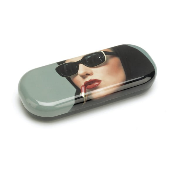 Obal na brýle Lipstick Woman