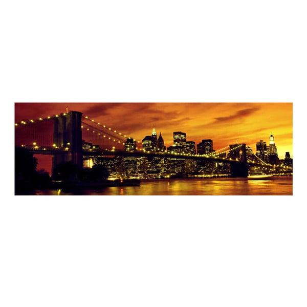 Obraz na skle New York, 30x90 cm