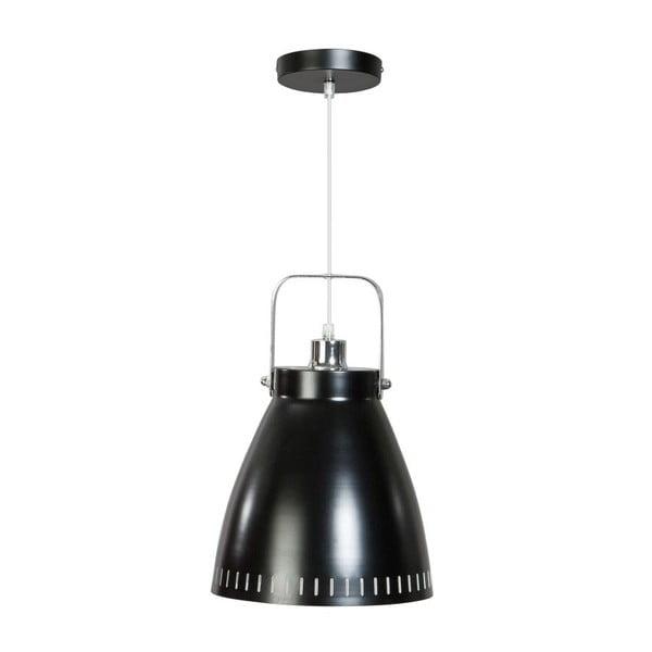 Černé stropní svítidlo ETH Acate Industri