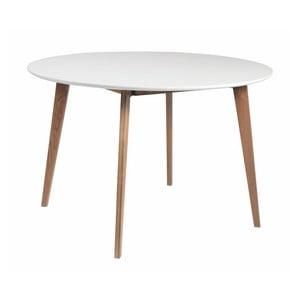 Jídelní stůl s podnožím z dubového dřeva Folke Arild,⌀ 115cm