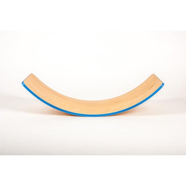 Buková hojdacia doska s modrou hranou Utukutu, dĺžka82 cm