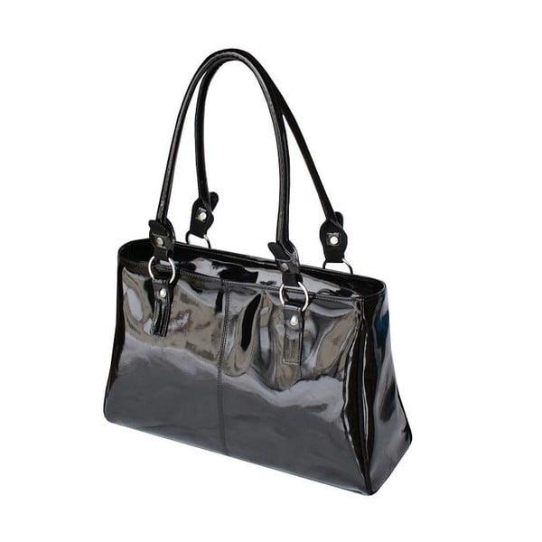 Kožená kabelka Boscollo Black 2550