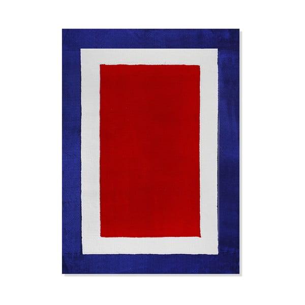 Dětský koberec Mavis Blue and Red Mix, 100x150 cm