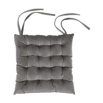 Pernă pentru scaun Tiseco Home Studio Chairy, 37x37cm, gri închis imagine