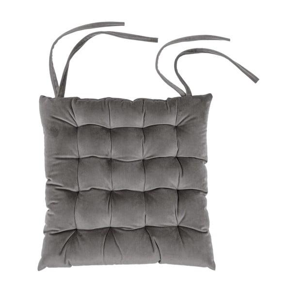 Pernă pentru scaun Tiseco Home Studio Chairy, 37x37cm, gri închis
