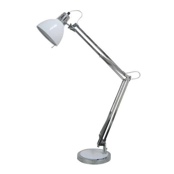 Stolní lampa Nestor, bílá