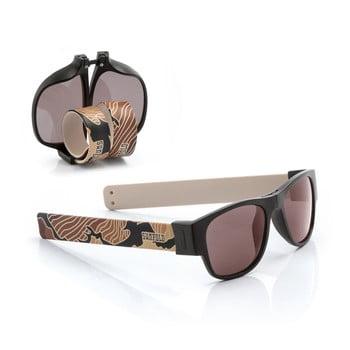 Ochelari de soare pliabili InnovaGoods Sunfold TR6, mov-negru de la InnovaGoods
