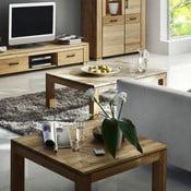 Konferenční stolek z dubu SIT, 80 cm