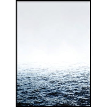 Poster cu ramă pentru perete QUIET/PLACE, 50 x 70 cm