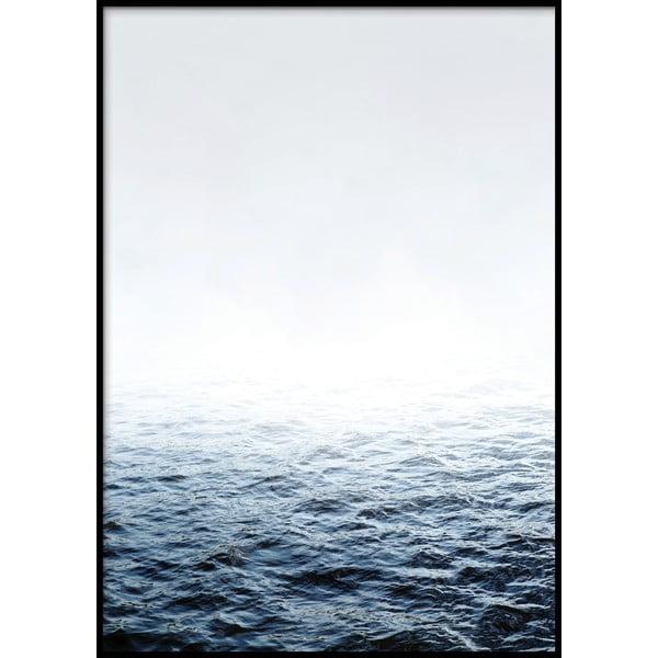 Plakat w ramie QUIET/PLACE, 50x70 cm
