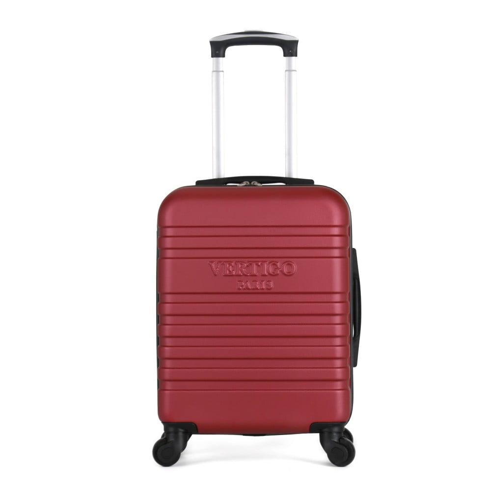 Vínový cestovní kufr na kolečkách VERTIGO Valises Cabine Cadenas Muela
