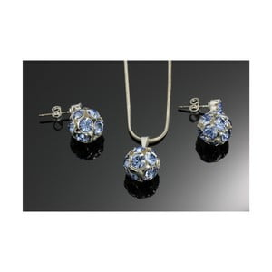 Set Swarovski Elements Marble Saphire