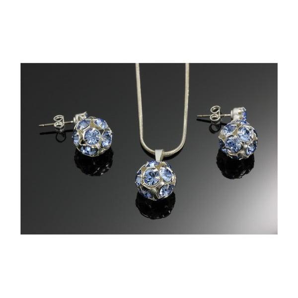 Set Swarovski Elements Marble Saphire
