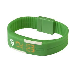 Ceas cu LED TINC Original, verde