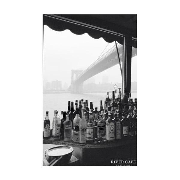 Fotoobraz River Cafe, 51x81 cm