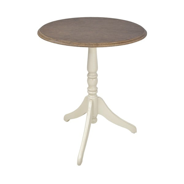 Jedálenský stôl z dreva kaučukovníka Livin Hill Limena, ⌀ 60 cm