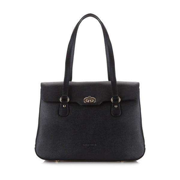 Kožená kabelka Elegance Woman Black