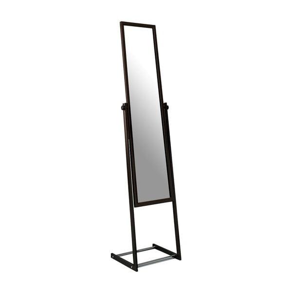 Čierne stojacie zrkadlo Design Twist Farafra
