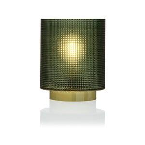 Zelená skleněná olejová LED lampa Versa Relax, ⌀ 11,8 cm