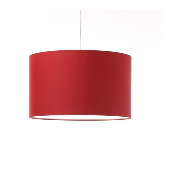 Červené stropní světlo Artist, variabilní délka, Ø 42 cm