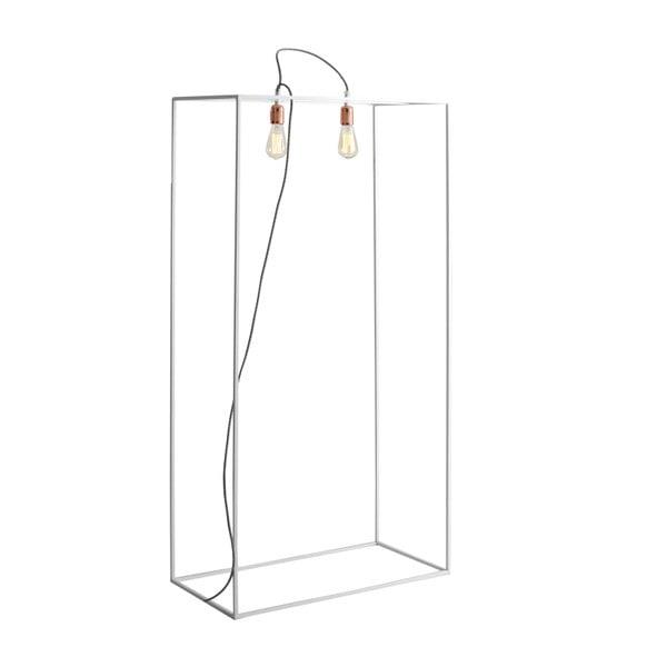Lampadar Custom Form Metric, lățime 70 cm, alb