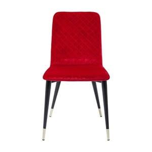 Červená jídelní židle Kare Design