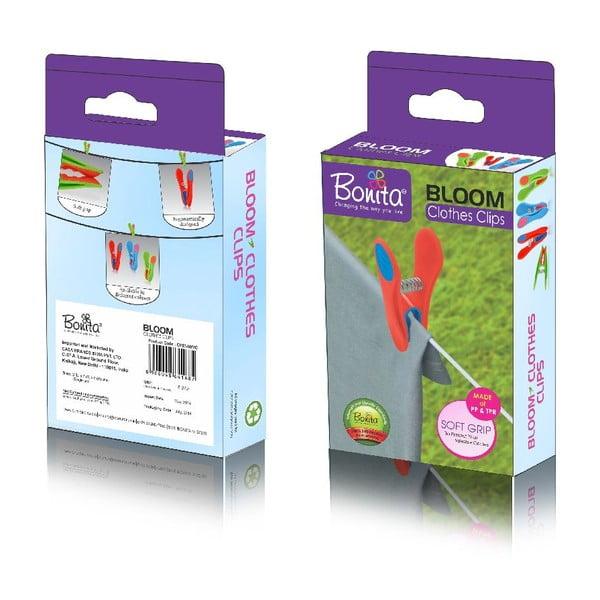 Kolíčky na prádlo Bonita Bloom, 24 ks