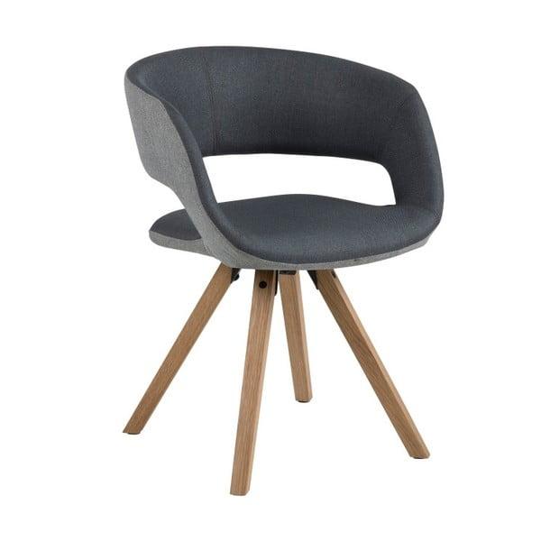 Tmavě šedá jídelní židle Actona Greta
