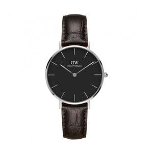 Dámské hodinky s černým páskem Daniel Wellington York Dark, ⌀32mm