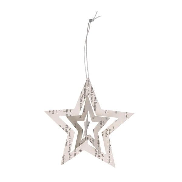 Papírové hvězdy, 12 ks, noval