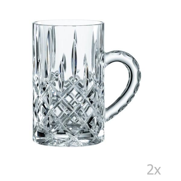 Sada 2 mini hrnků z křišťálového skla Nachtmann Noblesse, 250 ml