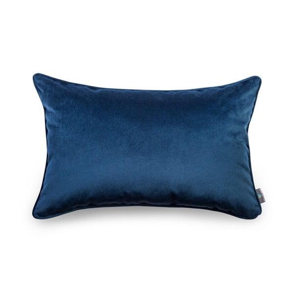 Modrá obliečka na vankúš WeLoveBeds Royal, 40 × 60 cm