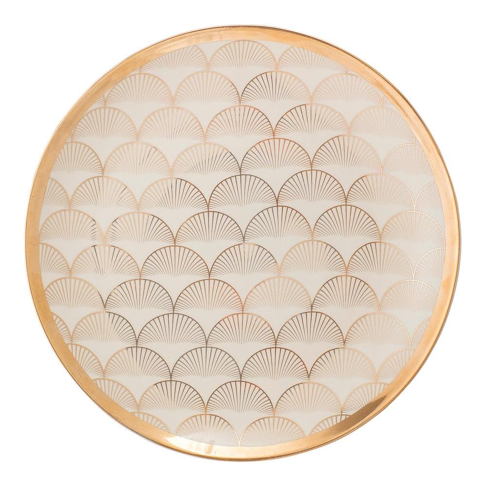 Keramický talíř Bloomingville Aruba, ⌀25 cm